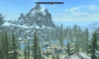 Traveling through Skyrim