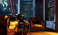 A quiet parlor in Bioshock Infinite's Columbia